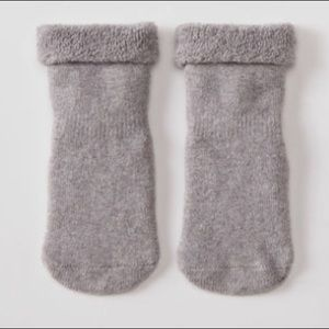 🐝Hanna Sock (1/2) Baby/Toddler 2 pack grey/white